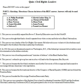 photo regarding Printable Black History Trivia Questions and Answers titled Totally free Social Research - Background ExamView Wonder Banking companies TpT