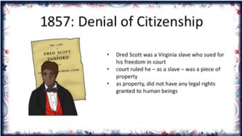 Civil Rights Movement Lesson PowerPoints