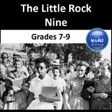 Civil Rights Movement - Little Rock Nine - Reading Passage