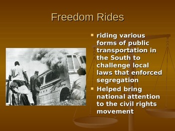Civil Rights Movement - Major Events and People