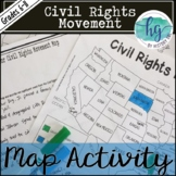 Civil Rights Movement Map