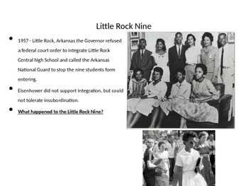 Civil Rights Movement & Other Social Movements