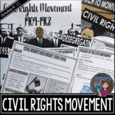 Civil Rights Movement PowerPoint Presentation and Guided Notes