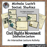 Civil Rights Movement Ppt w/ Core Content Lecture Notes