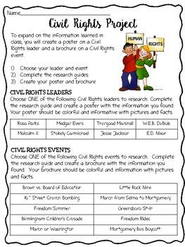 Civil Rights Movement Project