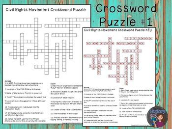 Civil Rights Movement Puzzles