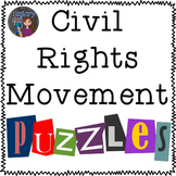 Civil Rights Movement Puzzles