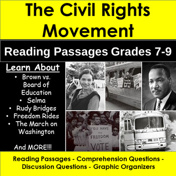 Civil Rights Movement: Reading Passages