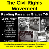 Civil Rights Movement: Reading Passages