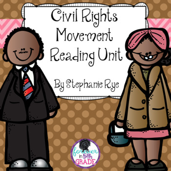 Civil Rights Movement Reading Unit Bundle