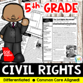 Civil Rights Movement DIFFERENTIATED Reading Worksheets (SS5H6)