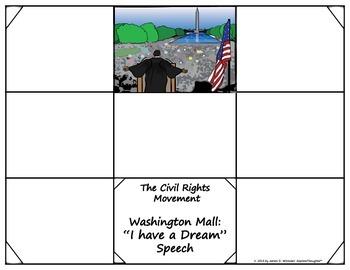 Civil Rights Movement Research Tri-Folds