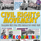 Civil Rights Movement Unit Bundle