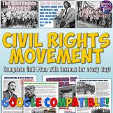 Civil Rights Movement Unit Bundle