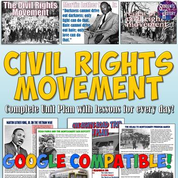 Civil Rights Movement Unit Set