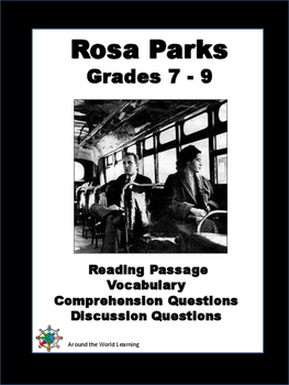 Civil Rights Movement - Rosa Parks - Reading Passage - Gra