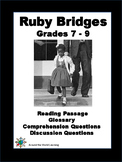 Civil Rights Movement - Ruby Bridges - Grade 7 to 9