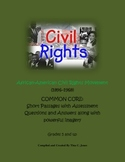 CIVIL RIGHTS: Short Passages - Reading Comprehension and A