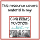Civil Rights Movement Study Guide