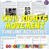 Civil Rights Movement Timeline Activities