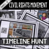 Civil Rights Movement Timeline Activity
