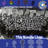 Civil Rights Movement -- U.S. History Curriculum Unit Bundle