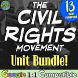 Civil Rights Movement Unit | 13 Resources Emmett Till, MLK