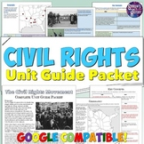 Civil Rights Movement Study Guide and Unit Packet