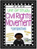 Civil Rights Movement Unit of Study {Lesson Plans, Assessm