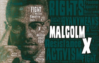 Civil Rights Movement Word Posters - Extra Variety Pack