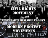 Civil Rights Movement and Modern Protests - Comparative Re