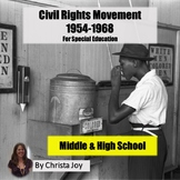 Civil Rights Movement for Special Education with complete lesson plans