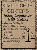 Civil Rights Movements Centers- African Americans, Natives, Women, Apartheid