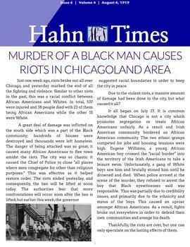 Civil Rights Newspaper Project