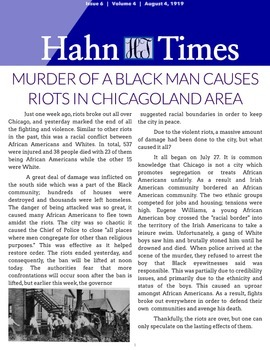 Civil Rights Newspaper Project