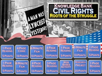 Civil Rights Part 1 (Roots of the Struggle) Digital Knowledge Bank