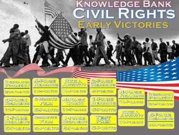 Civil Rights Part Two (Early Victories, the 1950s) Digital Knowledge Bank