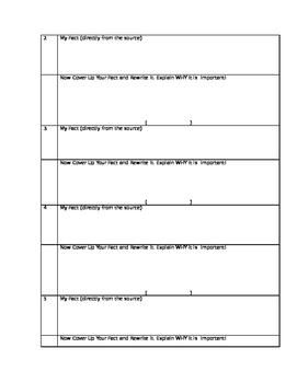 Civil Rights Performance Assessment, using Pecha Kucha style