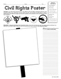 Civil Rights Protest Poster Activity