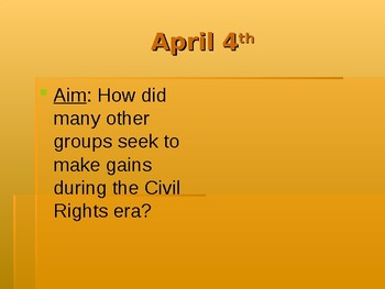 Civil Rights PowerPoint (groups other than blacks)