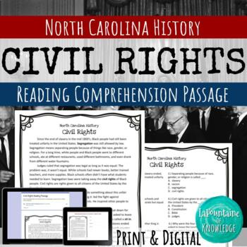 Civil Rights Reading Comprehension Passage