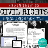 Civil Rights Reading Comprehension Passage