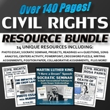 Civil Rights - Resource Bundle (PPT, Projects, Questions,