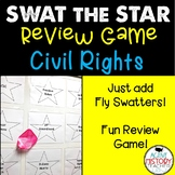 EOC US History Review Game - Civil Rights - Swat the Star!