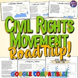 Civil Rights Movement Road Trip Lesson