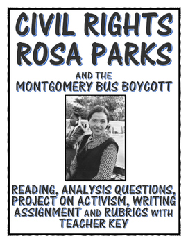 Civil Rights Rosa Parks Reading Primary Sources Project