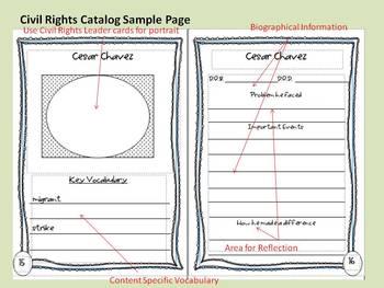 Civil Rights Second Grade Core Knowledge Bundle w/ work samples