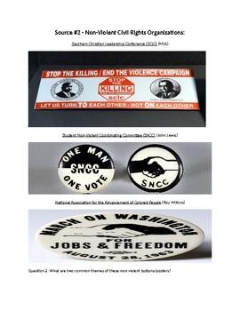 Civil Rights Socratic Seminar - Part 3 - Civll Rights Movement of the 1960's