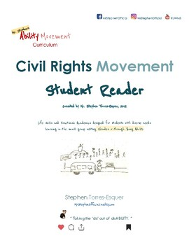 Civil Rights |  Student Reader (part 1 of 2) | SpEd: Gd. 5 - Young Adult