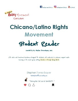 Chicano Rights |  Student Reader (part 1 of 2) | SpEd: Gd. 5 - Young Adult